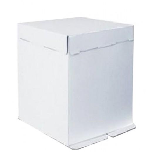 Короб картонный бел Pasticciere 300*300*450 мм EB450, Картонная упаковка, бумажные крафт пакеты
