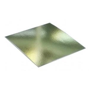 Подложка усилен золото/жемчуг квадрат 280*280мм (толщ1,5мм) GWD280*280