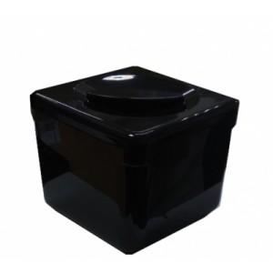 Емкость для льда 20*20*17 см 3,4 л пластик черная 93200