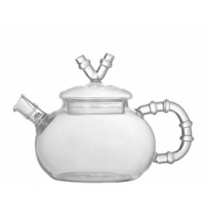 КОЛЛАЖ Чайник заварочный 600 мл с фильтром стекло 1985