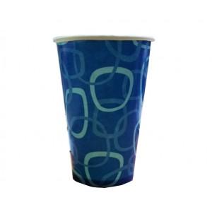 Стакан одноразовый бумажный 400 мл для холодных напитков 50 шт
