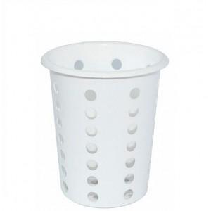 Емкость для столов приборов d 95 мм h 130 мм пластик перфорир 1700