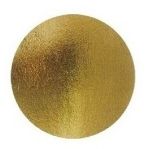 Подложка золото/картон круг №28 0,8 мм