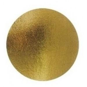 Подложка золото/картон круг №30 0,8 мм