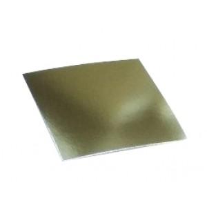 Подложка усилен золото/жемчуг квадрат 220*220мм (толщ1,5мм) GWD220*220