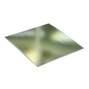Подложка усилен золото/жемчуг квадрат 260*260мм (толщ1,5мм) GWD260*260