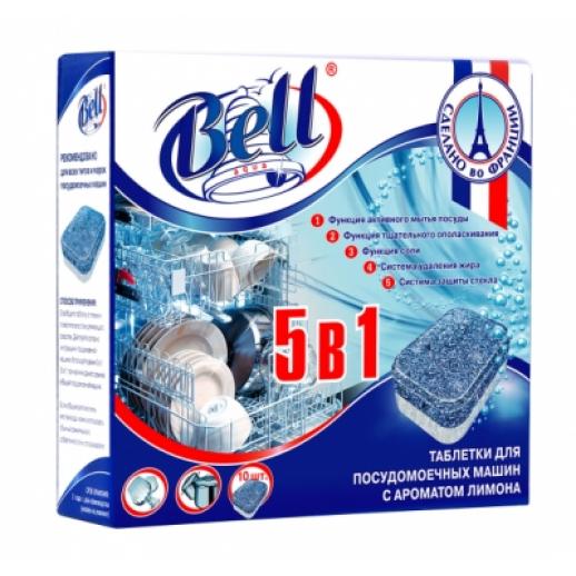 Таблетки для посудомоечных машин 5 в 1 10 шт 205630 Аквалон, БЫТОВАЯ ХИМИЯ