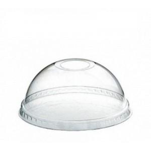 Крышка для стакана купольная с отверстием d 95 мм одноразовая 50 шт