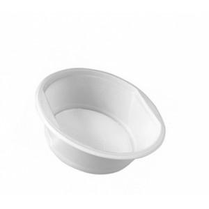 Тарелка одноразовая пластик глубокая 17 см 500 мл 50 шт