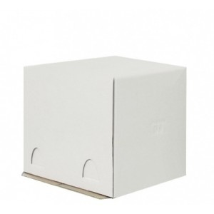 Короб картонный бел Pasticciere 240*240*220 мм