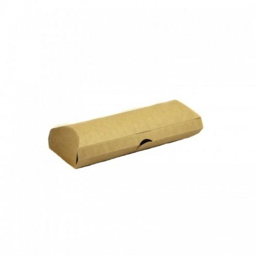 Упаковка ECO PILLOW для ролла 200*70*55 мм, Картонная упаковка, бумажные крафт пакеты