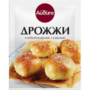 АЙДИГО Дрожжи хлебопекарные сухие 15 г 103202