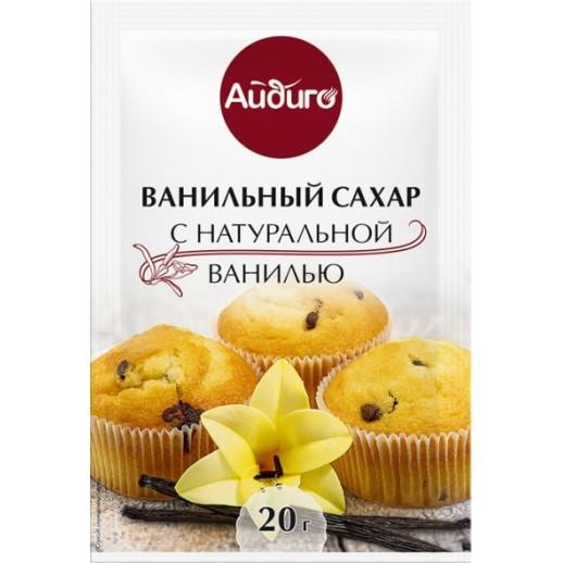 АЙДИГО Сахар с натуральной ванилью 20 гр 105063, Кондитерские ингредиенты