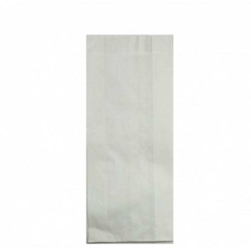 Упаковка Пакет бумажный 22*9*4 см белый 1 шт 108-008, Картонная упаковка, бумажные крафт пакеты