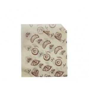 Упаковка уголок бумажный 175*140 мм Выпечка 1 шт 108-011