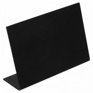 Табличка настольная грифельная черная железо 10,5*7,3 см PL 81210706