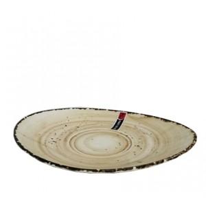 Блюдце d 18 см Organica Sand Fusion PL 81223090