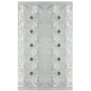 Форма для конфет поликарбонат шар 4 см 24 ячейки 73038050