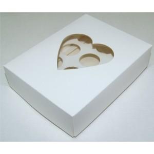 Упаковка для конфет СЕРДЦЕ 12 ячеек 555110