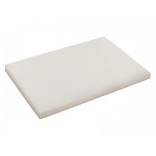 Пергамент 30,5*30,5 500 шт белый парафин 108-022, Пергамент, пищевая пленка, фольга, бордюрная лента