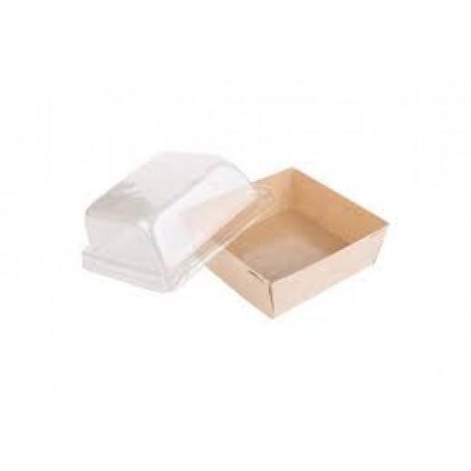 Упаковка ECO Prizma 550 141*141*90 мм, Картонная упаковка, бумажные крафт пакеты