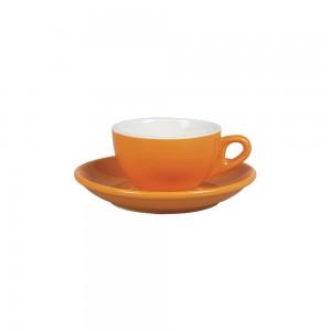 Чайная пара 180 мл оранжевый цвет Бариста 81223278