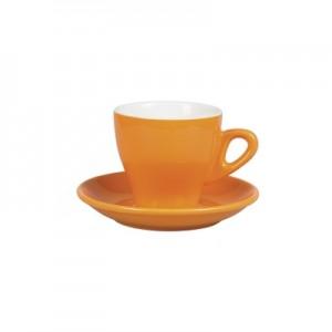 Чайная пара 280 мл оранжевый цвет Бариста 81223286