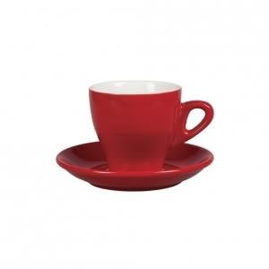 Чайная пара 280 мл красный цвет Бариста 81223288