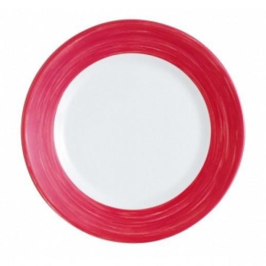 Браш Чашка 190 мл вишневый край, Посуда из стеклокерамики