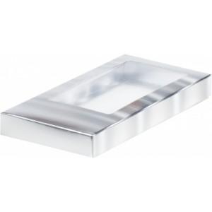 Упаковка для шоколадной плитки серебро 160*80*17 мм 060701