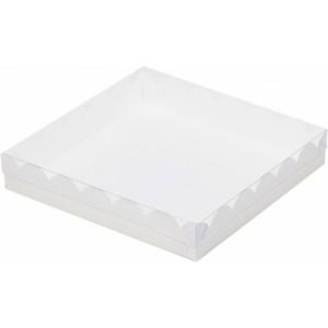 Упаковка для печенья и пряников БЕЛАЯ 155*155*35 мм 080410