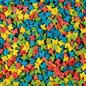 Посыпка Бабочки мини пастельные 250 гр 58212