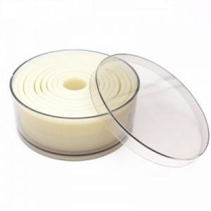 Набор вырубок КРУГ 2-10 см 9 шт h 3,5 см пластик 85100027 Испания