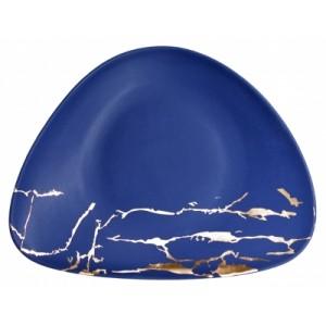 Тарелка 35*28 см Blue Gold 81223169