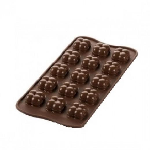 Форма силикон ИЗИ-ШОК шоколадная игра SCG51, Формы для шоколада и мастики