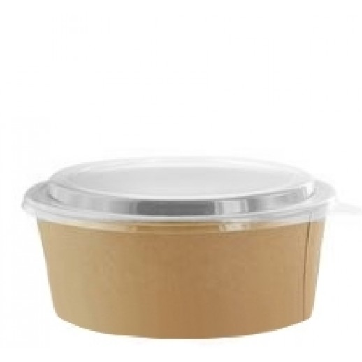 Упаковка ECO RCONT 128*150*45 объем 620 мл, Картонная упаковка, бумажные крафт пакеты