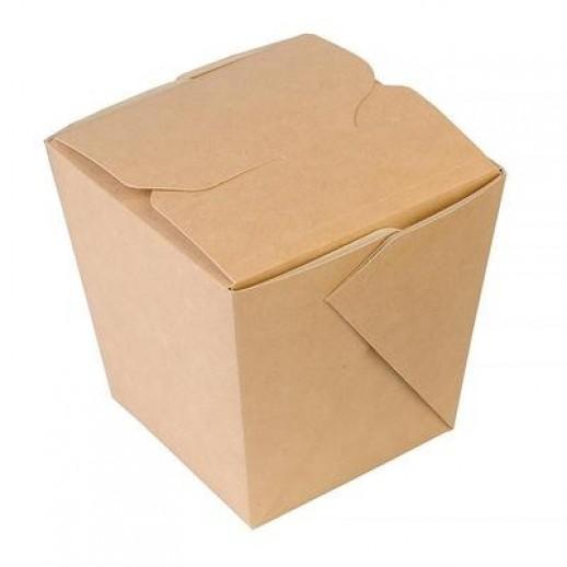 Упаковка ECO NOODLES 460 65*80*100 мм, Картонная упаковка, бумажные крафт пакеты