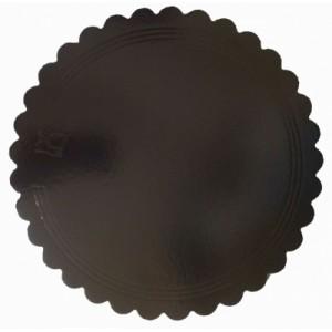 Подложка усилен золото/кофе ажур 280 мм (толщ 3,2)