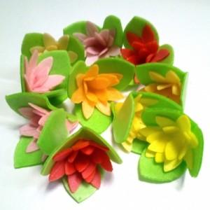 Вафельный цветок КАКТУСЫ 10 шт 8828