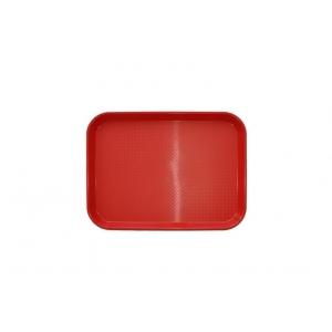 Поднос 26,5*34,5 см красный 1734