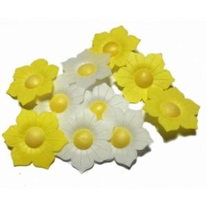 Вафельный цветок Нарциссы 10шт 8705