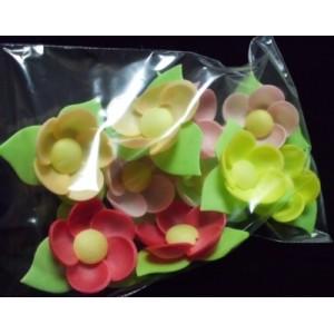 Вафельный цветок КУВШИНКИ 10 шт 8835