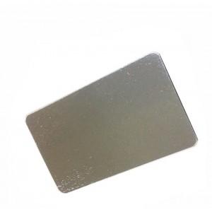 Подложка серебро/картон 14*25 см 50 шт 64169