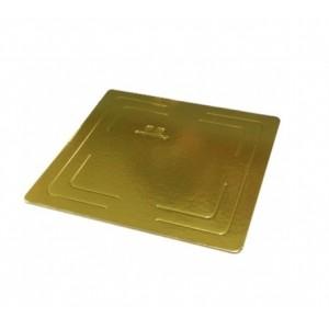 Подложка усилен золото/жемчуг квадрат 260*260 мм (толщ 3,2 мм)