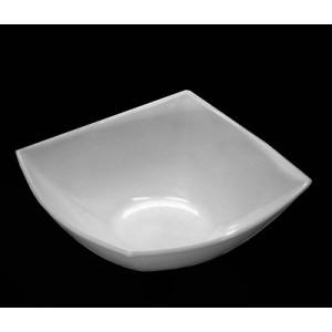 Салатник 14*14 квадро белый Аркорок 9861