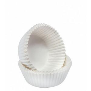 Капсула бумаж трюфель №110 белая короб 1000 шт 66141