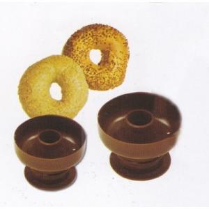 Штамп для пончиков d 8,4 h 6,2 см пластик 3833