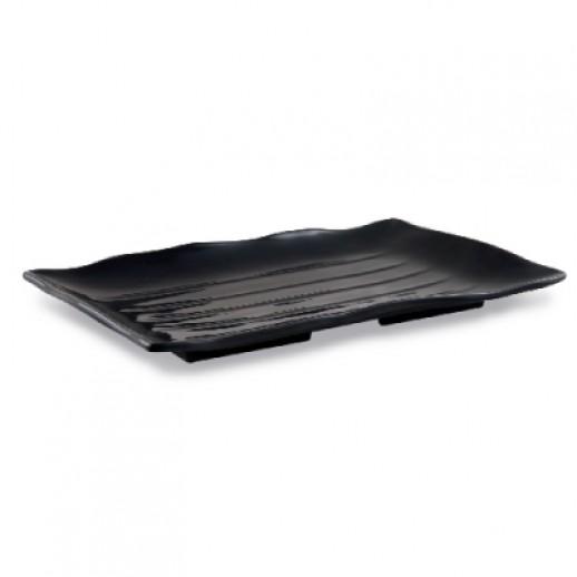 Тарелка прямоугольная 34см* 23см (JSQ513/Black)