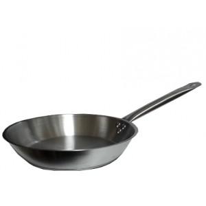 Сковорода ИНДУКЦИЯ нерж тройное дно 260*50 КТ024