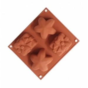 Форма силикон БЭБИФЛЕКС рождество HSF01